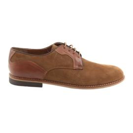 Marrom Sapatos masculinos Badura 3687 brown