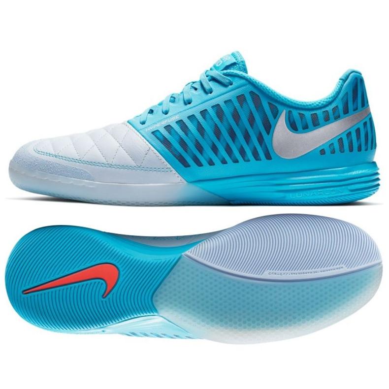 Sapatos de interior Nike Lunargato Ii Ic M 580456-404 azul branco, azul