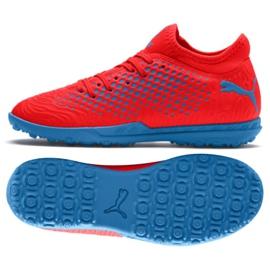 Chuteiras de futebol Puma Future 19.4 Tt Jr 105558 01 vermelho vermelho