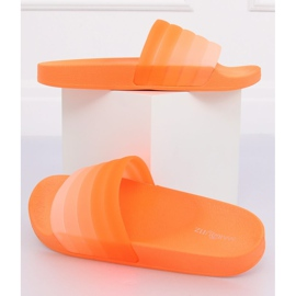Chinelos laranja das mulheres K-9183 Laranja