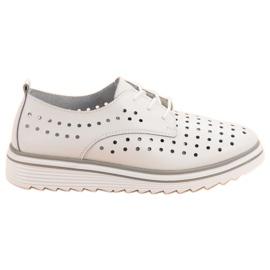 Kylie branco Sapatos a Céu Aberto