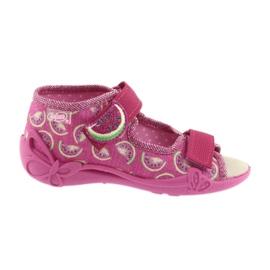 Sapatos de sandálias infantis Befado 342P004 melancias
