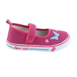 Sapatilhas cor-de-rosa Sapatilhas de couro Atletico