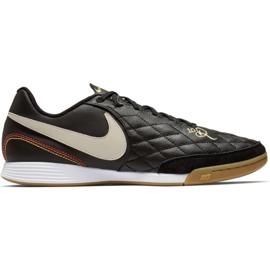 Sapatos de interior Nike Tiempo Legend X 7 Academia 10R Ic M AQ2217-027 preto preto