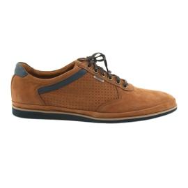 Leve Badura 3523 marrom calçados esportivos