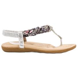 Cm Paris cinza Sandálias Japonesas Elegantes