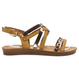 Seastar Sandálias de camelo na moda marrom