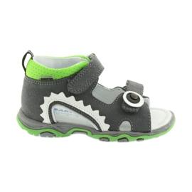 Sandálias meninos nabos Bartek 51063 cinza