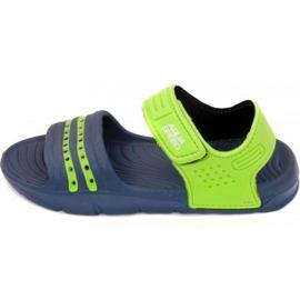 Sandálias Aqua-speed Noli verde marinho Kids col.48