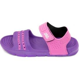 Sandálias Aqua-speed Noli rosa roxo Kids 93