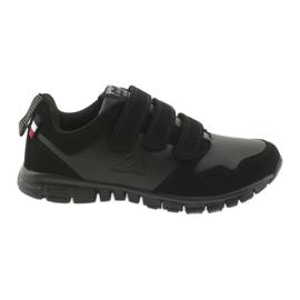 Velcro calçado desportivo American Club FH16 preto