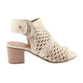 Sandálias com Badura 4723 upper