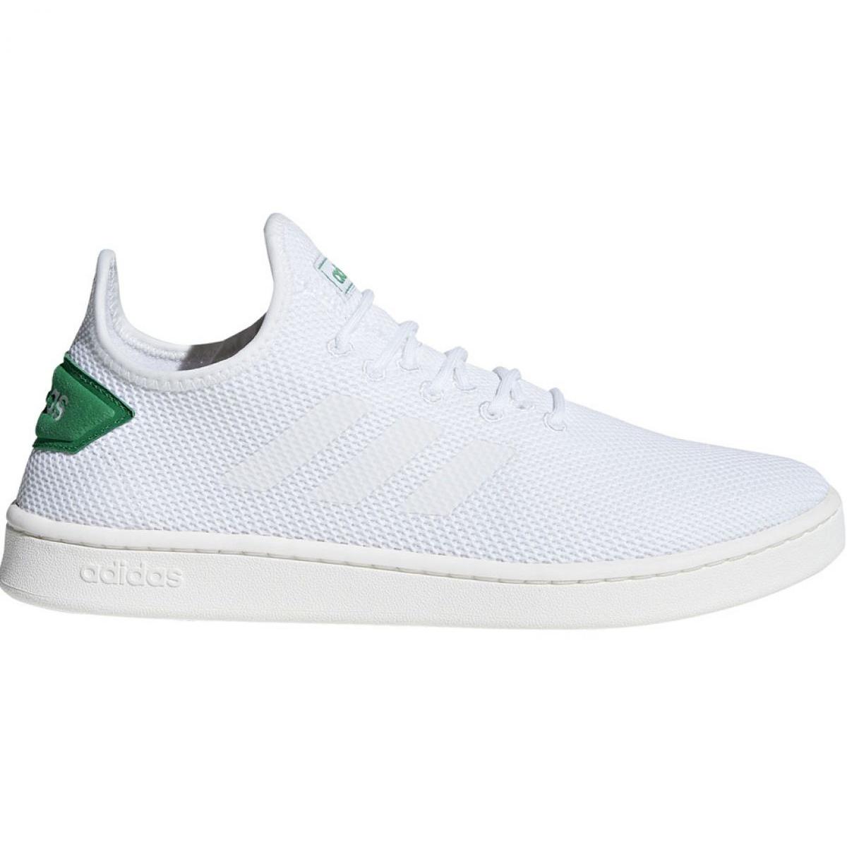 Calçados Adidas Court Adapt M F36417 branco