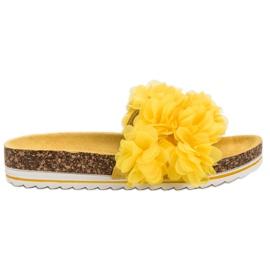 Seastar Chinelos amarelos na moda