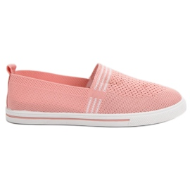 SHELOVET Tênis De Têxtil -de-rosa