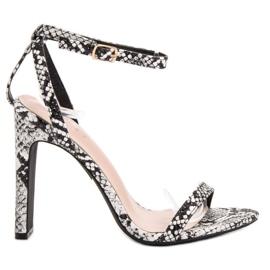 Seastar Sandals Animal Print cinza