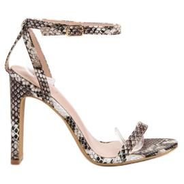 Seastar Sandals Animal Print marrom