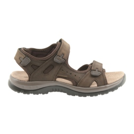 Marrom Sandálias DK Brown Velcro light EVA
