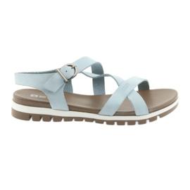 Big Star azul Sandálias Confortáveis