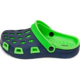 Sapatilhas Aqua-speed Silvi Jr col 48 verde azul marinho