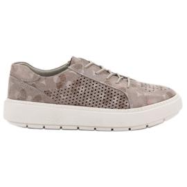 Goodin marrom Sapatos com cordões