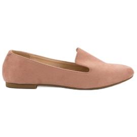 Lily Shoes Lordes de camurça -de-rosa