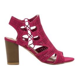 Goodin -de-rosa Sandálias na Moda Fúcsia