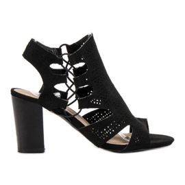 Goodin Sandálias Pretas na Moda preto