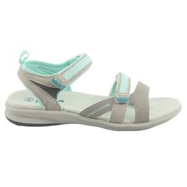 Sandálias para menina American Club HL12 cinza