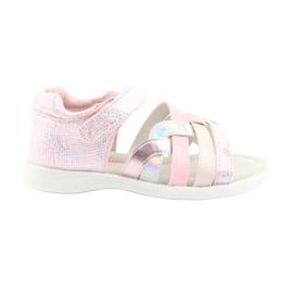 Sandálias das meninas rosa American Club GC26