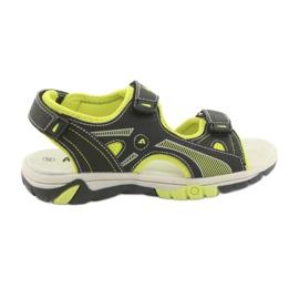 Sandálias dos meninos American Club RL22 preto