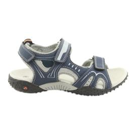 Sandálias dos meninos American Club RL18 marinha