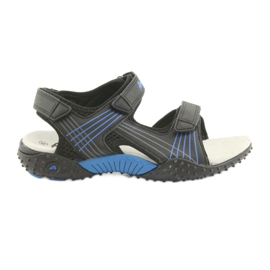 Sandálias dos meninos American Club HL15 preto