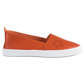 Kylie Tênis Slip-on laranja