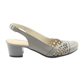 Sandálias das mulheres Gregors 771 cinza