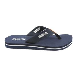 Big Star Big Blue flip-flops azul marinho marinha