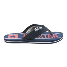 Cintos de homem Big Star 174658 azul marinho