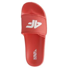 Chinelos 4F Jr J4L19-JKLD200 62S vermelho