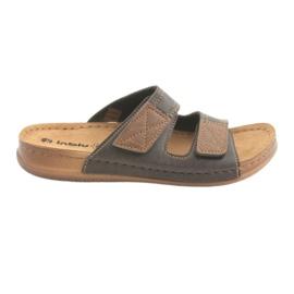 Marrom Sapatos masculinos Inblu TH015 brown