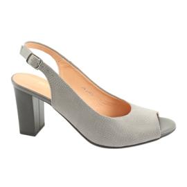 Sandálias para homem ao ar livre Espinto S274 cinza