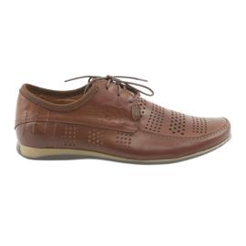 Calçado desportivo para homem Riko 694 brown marrom