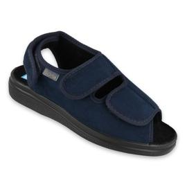 Marinha Sapatos femininos Befado pu 676D003