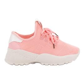 -de-rosa Sapatilhas Esportivas Têxtil VICES