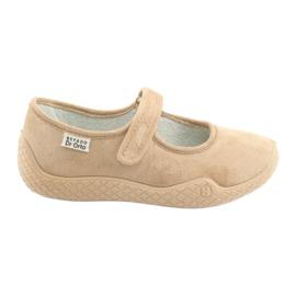 Sapatos femininos Befado pu - jovens 197D004 marrom