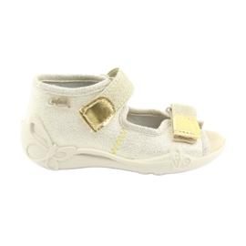 Calçado infantil amarelo Befado 342P003