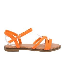 Sandálias das mulheres laranja WL255 Laranja