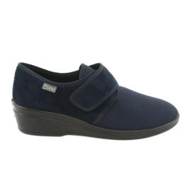 Sapatos femininos Befado pu 033D001 marinha
