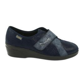 Sapatos femininos Befado pu 032D001 azul