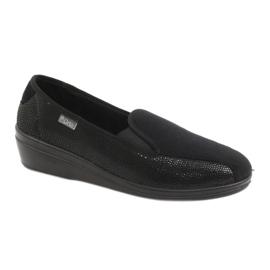 Preto Sapatos femininos Befado pu 034D002