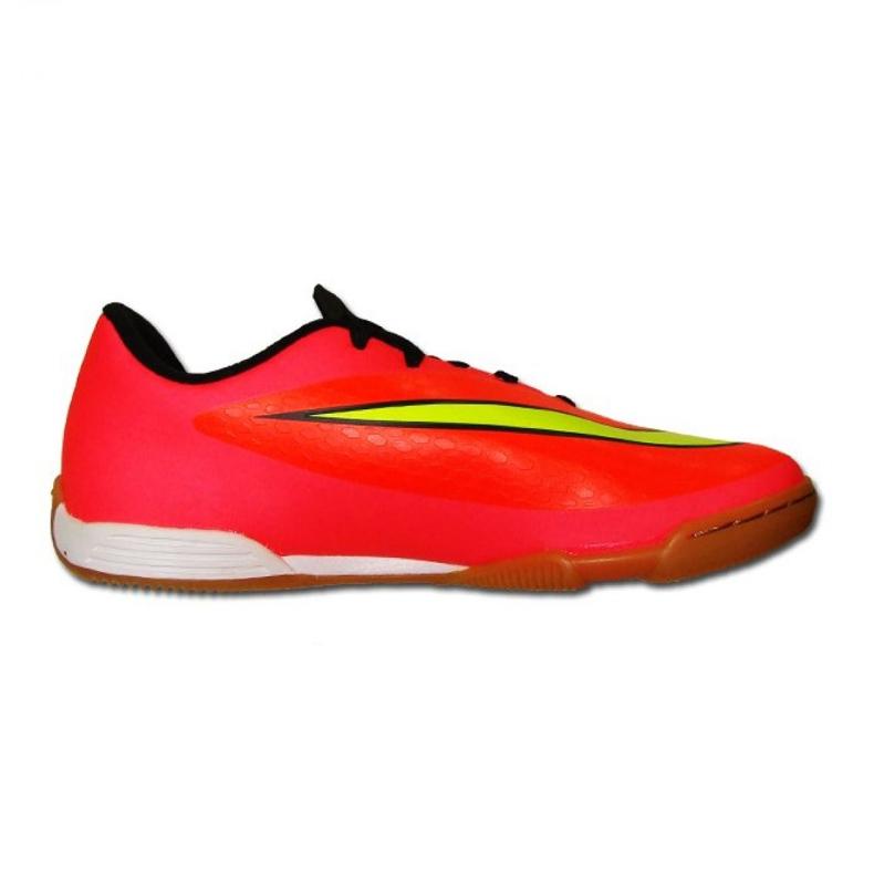 Sapatos de interior Nike Hypervenom Phade Ic Jr 599842-690 vermelho vermelho, rosa